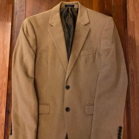 Stafford Wool Camel Sports Coat Jacket Blazer